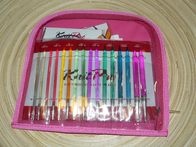 Knitpro  50613 Acrylic Needles Interchangeable Deluxe Set/ Spect