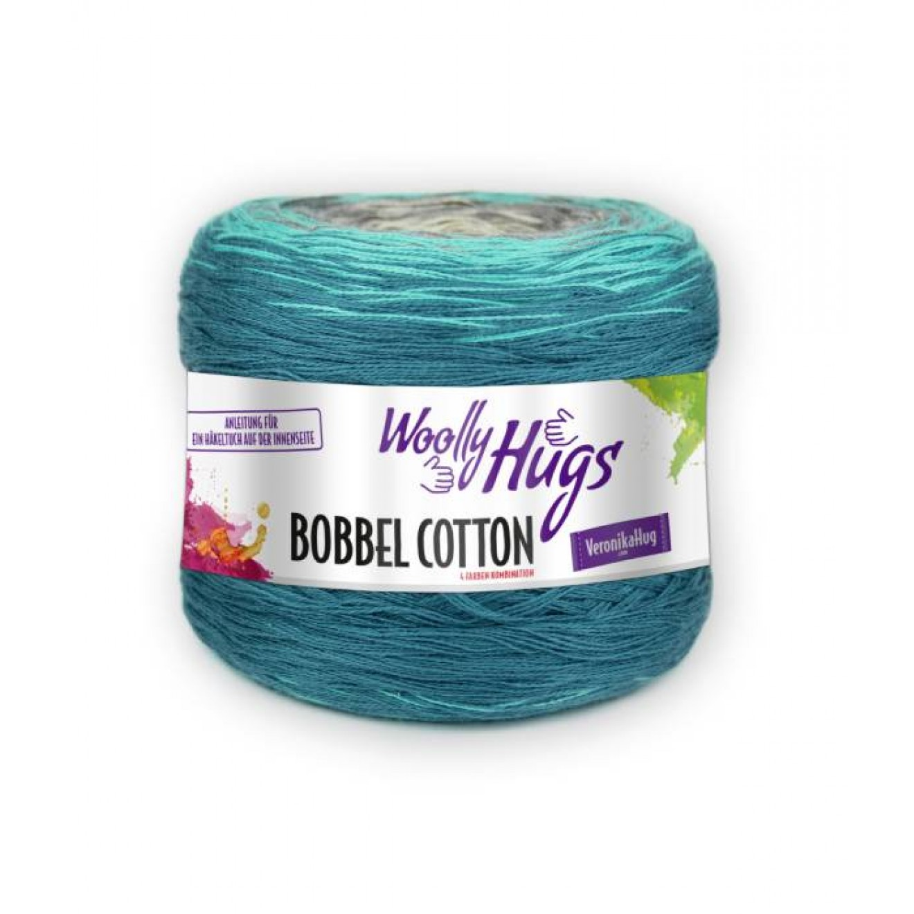 Pro Lana Woolly Hugs Bobbel Cotton 200g