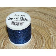 Metallic Glitzerfaden 1 Stk. 338 blau