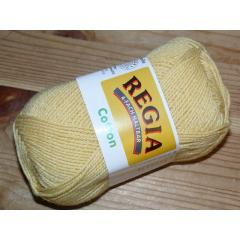 Regia Cotton Uni 50g 122 gelb