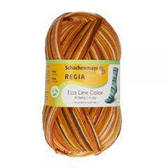 Regia 4-Fädig Eco Line Color - 02001 earth color ca. 420 m 100 g